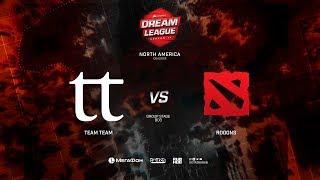 TeamTeam vs Rooons, DreamLeague Minor Qualifiers NA, bo3, game 2 [Mila & Inmate]