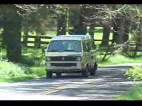 Sad VW Vanagon Traveling Commercial