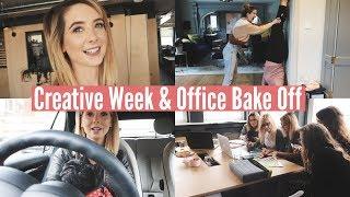 CREATIVE WEEK & OFFICE BAKE OFF | WEEKLY VLOG