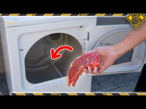 Your DRYER Can Cook Steak!