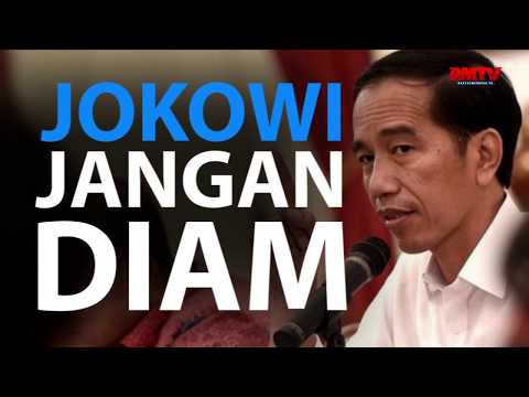 Jokowi Jangan Diam