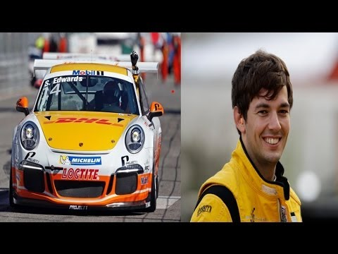 Race car driver Sean Edwards dies in Queensland Raceway crash