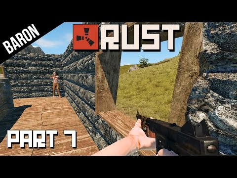 rust - Rust Gameplay Part 7 - Raid! Fighting Cpt. Butthurt! He's Mad! ○Download Rust: http://store.steampowered.com/app/252490/ ○Rust First Day Trailer: http://youtu.be/-YhCvGVop1Q ○Rust...