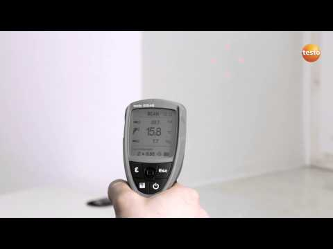 Professional Infrared Thermometer testo 835 - Step 3 - How t