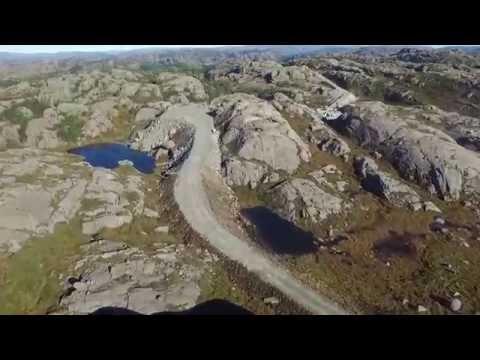 Egersund Vindpark fra luften