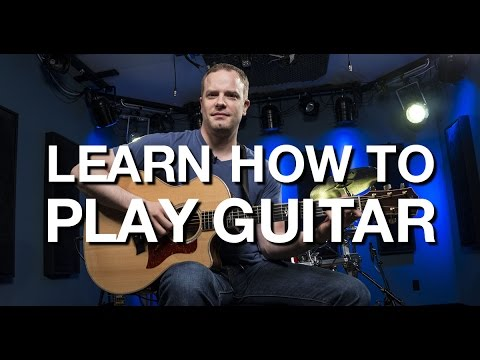 Learn How To Play Guitar – Beginner Guitar Lesson #1