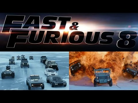 Trailer Launch OF Film Fast & Furious 8