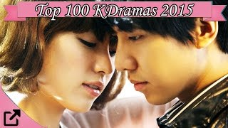 Video Top 100 Korean Dramas 2015 (All The Time) MP3, 3GP, MP4, WEBM, AVI, FLV Januari 2018