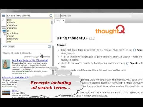ThoughtQ: Refine Your Search