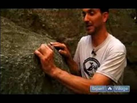 Intermediate Rock Climbing : Rock Climbing Hand Hold Techniques