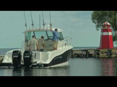29 Foot Walkaround Fishing Boat by Striper Boats