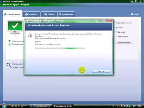 Video 0 de Microsoft Security Essentials: Instalación y primeros pasos