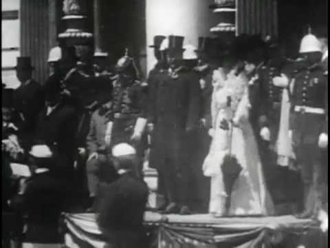 President Roosevelt Reviewing the Troops at Charleston Exposition