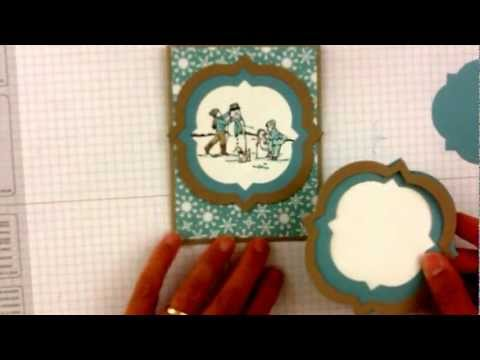 Stampin'Up Winter Memories of Building a Snowman!