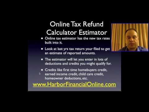Individual Income Tax Return Filing & Calculator 2011, 2012