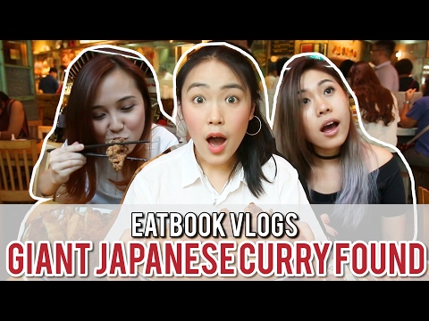 UDON GOEN - GIANT JAPANESE CURRY RICE AT WISMA'S FOOD COURT | Eatbook Vlogs | EP 2