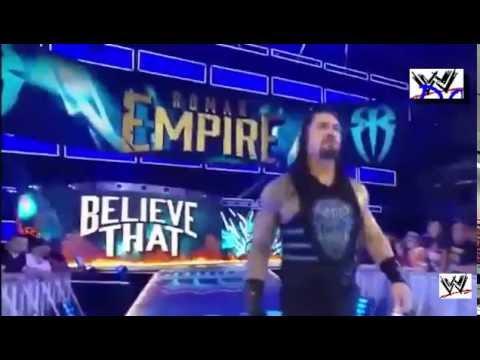 Chris Jericho vs Roman Reigns -WWE Raw match 22 August 2016