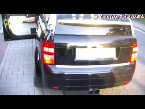 Audi A2 1.4 TDi TUNING Power Sound das arme auto kwellen lol^^