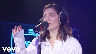Video Lorde - In The Air Tonight (Phil Collins cover) in the Live Lounge MP3, 3GP, MP4, WEBM, AVI, FLV April 2018