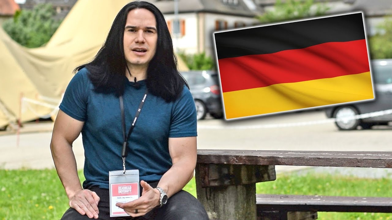 I went to Germany and Played Guitar Because I Make YouTube videos