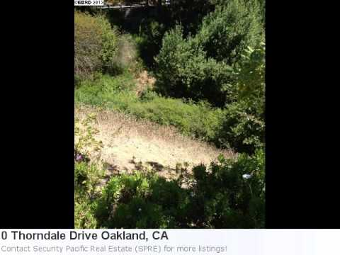 Immaculate 0.16 Acre Lot In Oakland, Ca Is Listed At Just $1