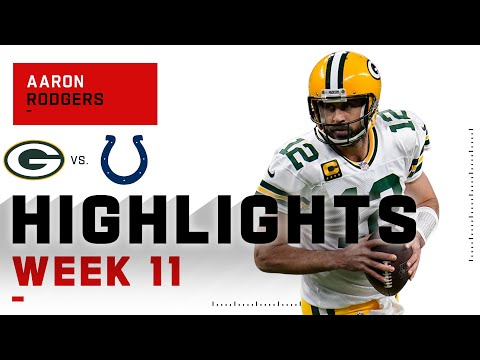 Aaron Rodgers Dazzles vs. Colts | NFL 2020 Highlights
