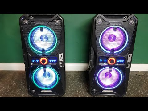 1 vs 2 Altec Lansing Xpedition 8's!