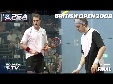 On This Day: Palmer v Willstrop - British Open 2008 Final - Archive Highlights