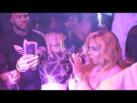 Lil Kim It's All About The Benjamins Performance at STORY Nightclub