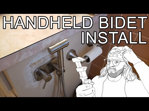 How to Install a Hot/Cold Bidet + Review (Trustmi)