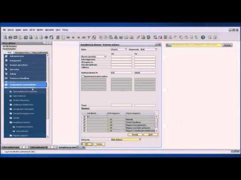 SAP Business One - kompletacja dostaw