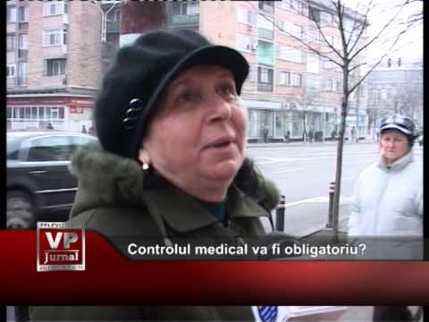 Controlul medical va fi obligatoriu?