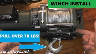How To Install A Winch In Your Garage