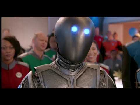 Scott Grimes singing goodbye by air supply. The Orville season 2 episode 8