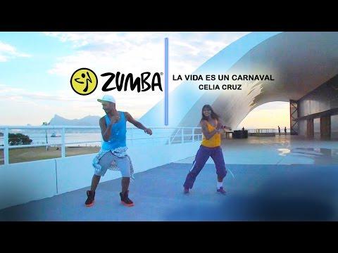"""zumba in salsa - """"la vida es un carnaval"""" celia cruz regina della salsa"""