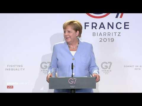 G7-Gipfel: Pressekonferenz mit Bundeskanzlerin Angela M ...