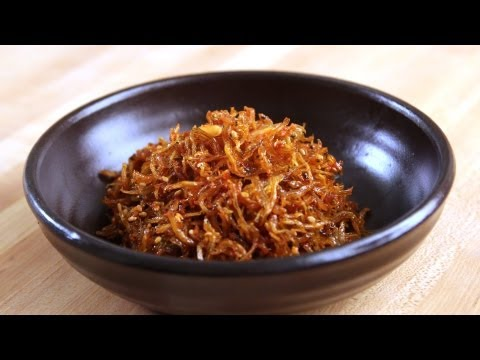 Korean Recipe: How to make Hot and Spice and Plain Stir Fry Sun Dried Anchovy – Myulchi Bokkeum – 멸치볶음