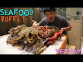 Download Lagu BEST All You Can Eat SEAFOOD Buffet in Saigon VIETNAM! Mp3 Free