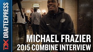 Michael Frazier 2015 NBA Draft Combine Interview