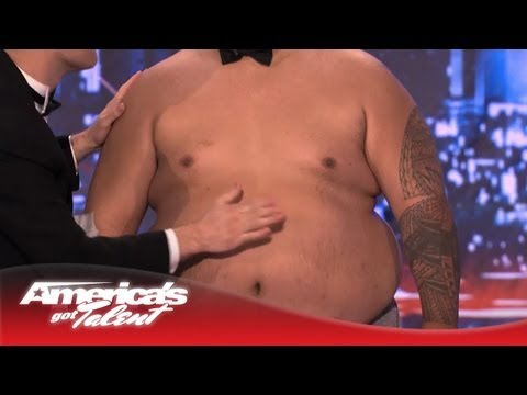Tummy Talk – Nick Cannon Joins In to Make Music – America's Got Talent 2013
