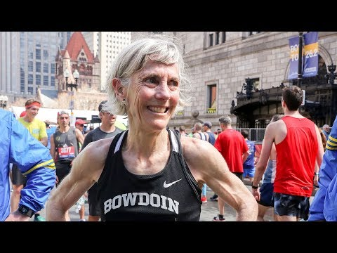 Joan Benoit Samuelson Runs 2019 Boston Marathon in 3:04