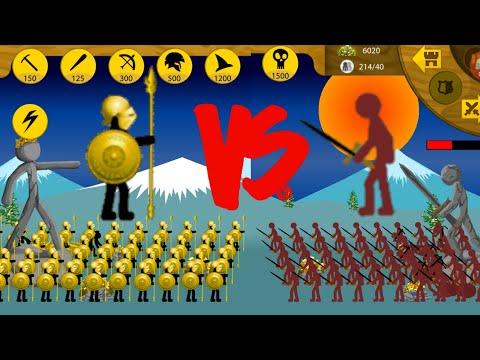 100 Golden Speartons VS Swordwraith | Insane MODE Tournament | Stick War Legacy