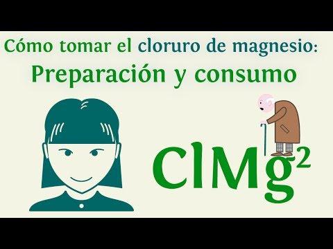 Cómo tomar el cloruro de magnesio: Preparación y consumo