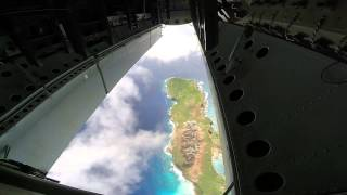 B-52 Dropping Ordinance From Inside The Bomb Bay