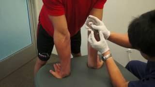 IASTM Golfer's Elbow treatment technique