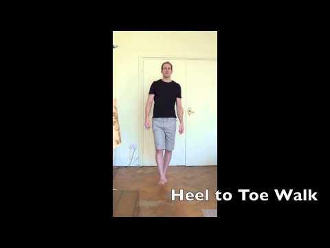 The Balance Doctor - Balance Test - Tandem walk