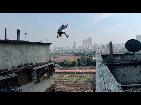 How we did it! Mumbai Parkour POV 🇮🇳