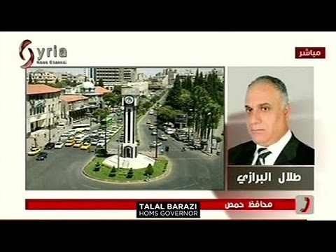 «Η Αμερική στηρίζει τους τρομοκράτες» υποστηρίζει ο κυβερνήτης της Χομς