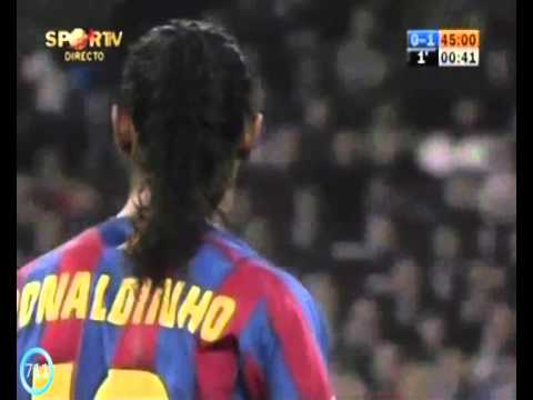 greatest moments - Real Madrid : Barcelona (2005) and sensational performance by Ronaldo de Assis Moreira Ronaldinho. Song: Ludovico Einaudi-Nuvole Bianche http://clikhere.co/N...