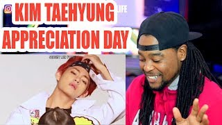 Video V appreciation day | a video to make you fall in love with Kim Taehyung | REACTION!!! MP3, 3GP, MP4, WEBM, AVI, FLV Juli 2019